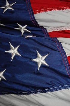 United States Flag 2 by Paul Thomley
