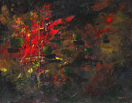 Untitled Abstract 61-12 by Sean Seal