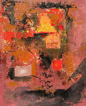 Untitled Abstract 616-12 by Sean Seal
