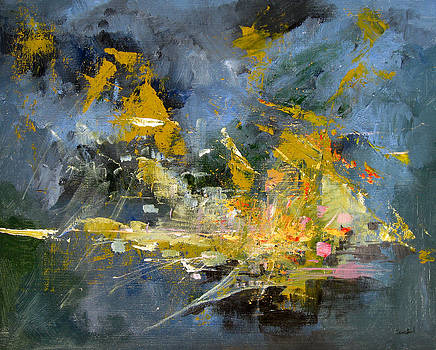 Untitled Abstract 623-12 by Sean Seal