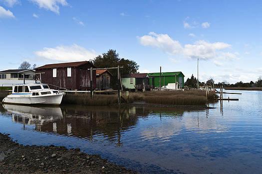 Unused Boathouses by Graeme Knox