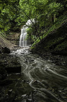Alan Norsworthy - Up to the Falls - Tiffany Falls