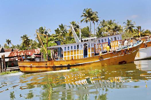 Kantilal Patel - Uphill ride Kerala Fishing Boat