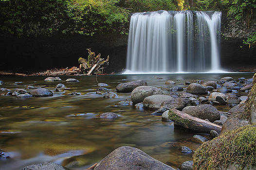 Upper Butte Creek Falls by Craig Pifer