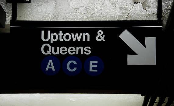 Uptown Train by Heidi Reyher