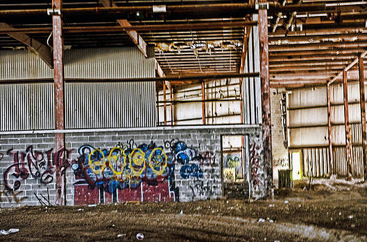 Urban art by Cheryl Cencich
