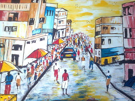 Urban Street Life by Kchris Osuji