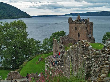 Urquhart Castle and Loch Ness 2 by Steve Watson