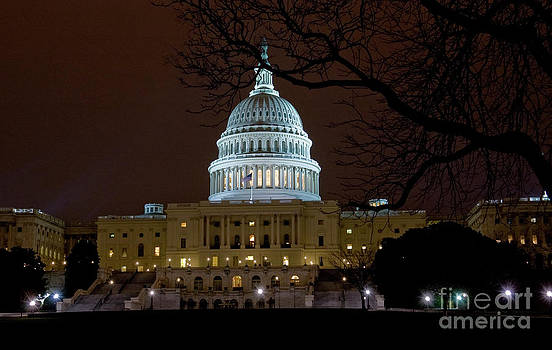 Tim Mulina - US Capitol at Night