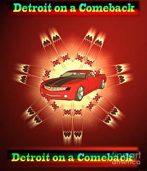 USA Detroit on a Comeback by Heinz G Mielke