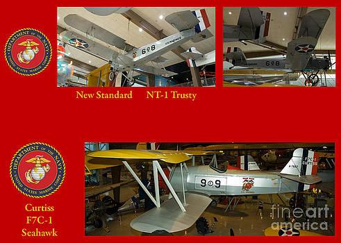 Tim Mulina - USMC NT-1 and F7C Biplanes