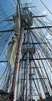 Tim Mulina - USS Constitution masts