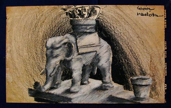 Glenn Bautista - UST Elephant Guard 1963