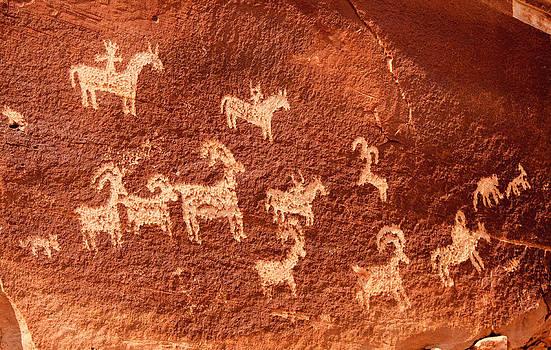 Adam Pender - Ute Petroglyphs