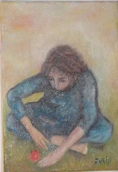 Valentine/Artist Private Collection by Farid  Fakhriddin 30x28 cm