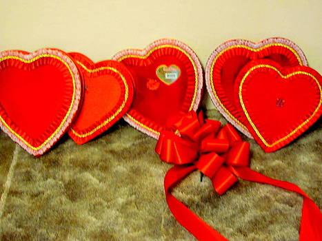 Valentine Chocolate Boxes by Amy Bradley