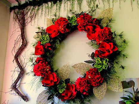 Valentine Wreath by Amy Bradley