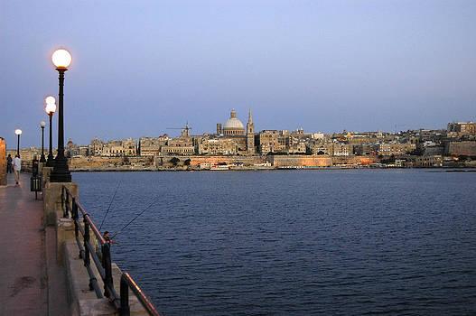 Simon Pocklington - Valletta at Dusk
