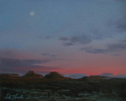 Valley of the Gods Plein Air by Mia DeLode