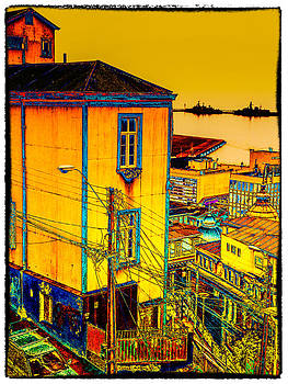 Valparaiso view by Peter Crass