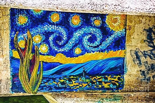 Ken Williams - Van Gogh Graffiti HDR