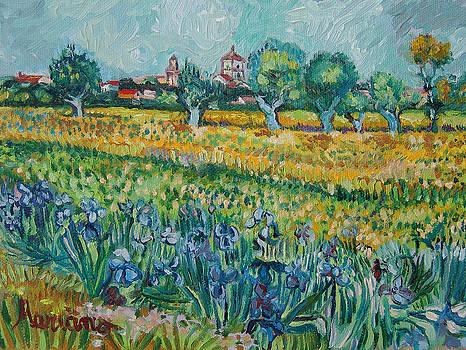 Van Gogh seven by Mariano Zucchi