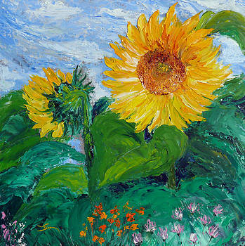 Dee Carpenter - Van Gogh Sunflowers