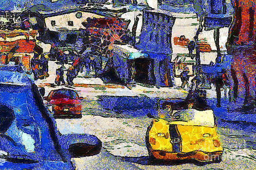 Wingsdomain Art and Photography - Van Gogh Tours The Streets of San Francisco 7D14100