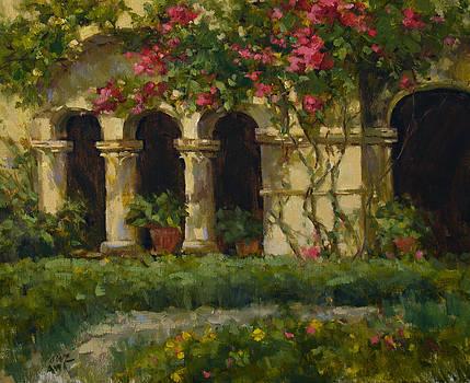 Van Gogh's Garden by Judy Crowe