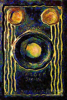 Wingsdomain Art and Photography - Van Gogh.s Vintage Kodak Brownie Six-16 Camera