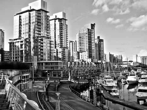 Kamil Swiatek - Vancouver Harbour BW