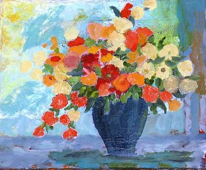Vase Of Floers by Selma Suliaman