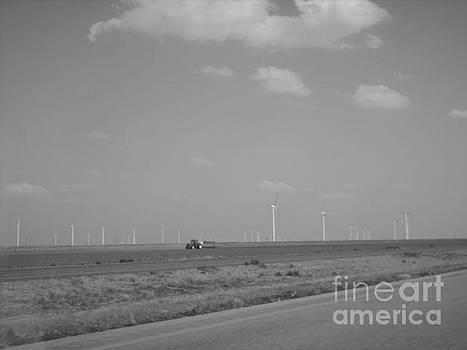 Vast West Texas Wind Farms by Michaelle Beasley
