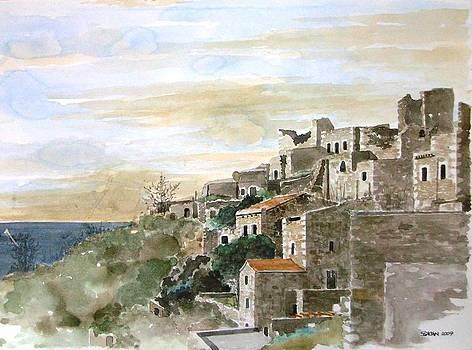 Vathia village by Samir Sokhn