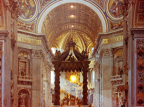Vatican Interior by Douglas Clulow