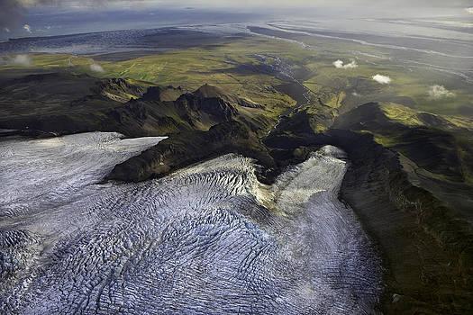 Vatnajokull Glacier - Iceland by Phil Degginger