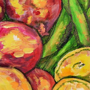 Vegetables Medley 2 Crop by Laura Heggestad