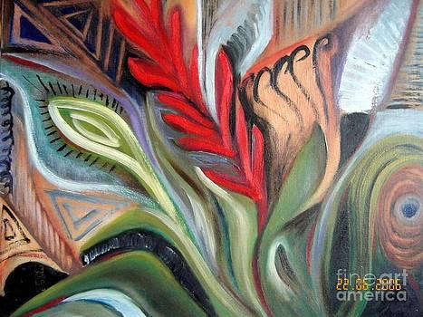 Vegetal Composition by Jenny Goldman