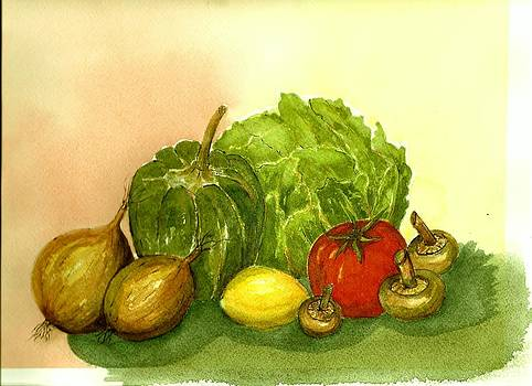 Veggies by Constance Larimer
