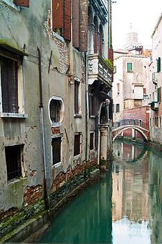 Venetian Canal 4 by Les Abeyta