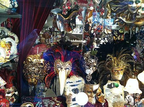 Venetian Masks by Laura Ramsey