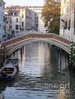 Venice Bridges by Carol Wright