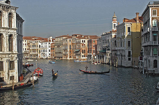 Venice Canal Grande by Travel Images Worldwide