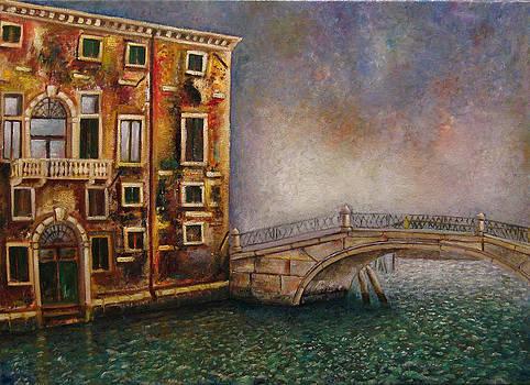 Venice Fundamenta Nova Bridge by Vladimir Kezerashvili
