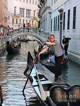 Venice Gondola Magic by Heather Nel