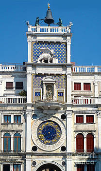 Gregory Dyer - Venice Italy - Clock Tower