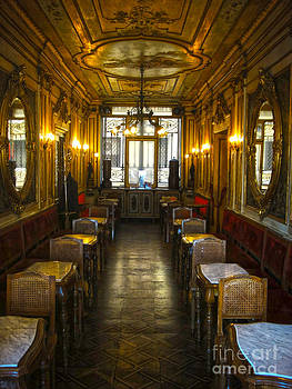 Gregory Dyer - Venice Italy - Tea Room