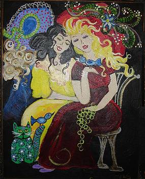 Vera and Natalie by Kathleen Bellows