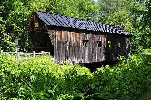 Vermont Covered Bridge by Jeff Moose