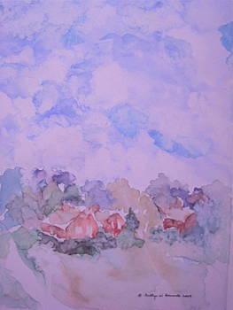 Vermont Sky by Bettye  Harwell